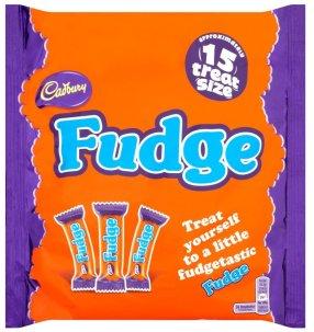 Cadbury Fudge Riegel 15 Stück