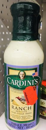 Cardini's Ranch Dressing with Italian Cheese 350ml