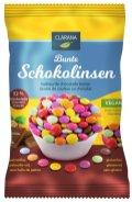 Clarana Bunte Schokolinsen vegan 52% Schokolade glutenfrei ohne palmöl