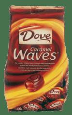 Auch die gab es kurze Zeit in Deutschland: Dove Caramel Waves.