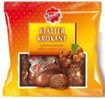 Friedel Blätterkrokant Vollmilchschokolade gefüllt mit Blätterkrokant