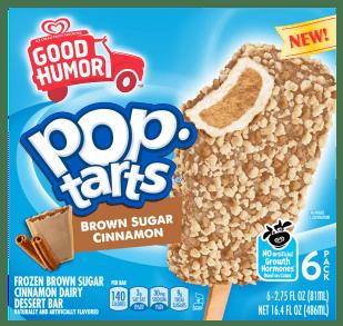 Good Humor pop-tarts Brwon Sugar Cinnamon Eiskrem 6er 486ml