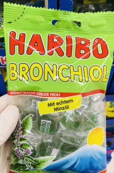 Haribo Bronchiol mit echtem Minzöl