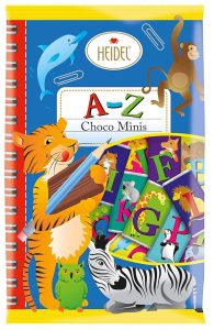 Heidel A-Z Choco minis