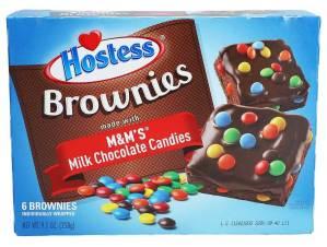 Hostess Brownies M+M-Chocolate Doublebrand