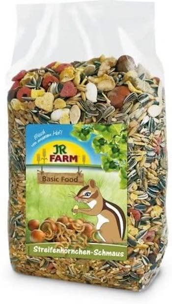 JR Farms Streifenhörnchen-Schmaus Basic Food für Eichhörnchen