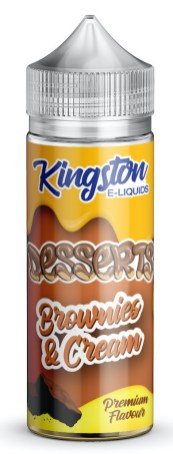 Kingston Desserts Brownies+Cream e-liquids