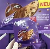 Mondelez Milka Cookie Snax Keksriegel 6er
