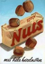 Alte Werbung von Nuts in Holland