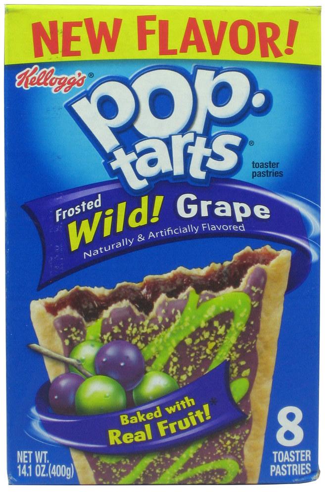 Pop Tarts Frosted Wild! Grape 8er