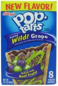 Pop Tarts Frosted Wild! Grape 8er