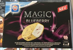 Riva Magic Blueberry 4xEiskrem