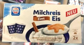 Riva Milchreis Eis Zimt 2 Becher