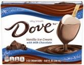 Silky Smooth Dove bar Vanilla Ice Cream 3er 256ml