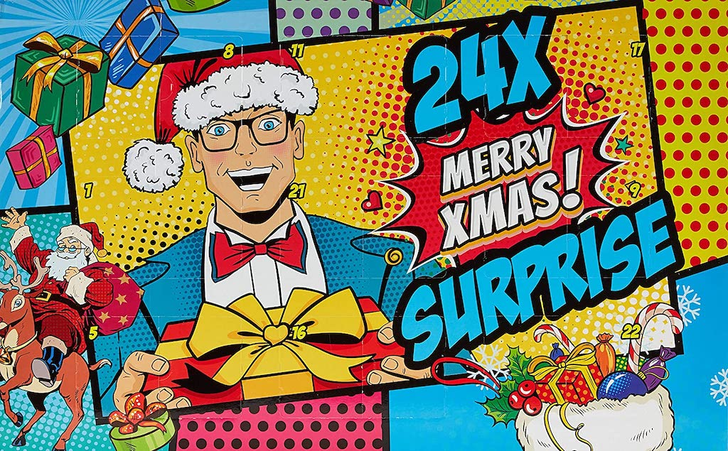 Adventskalender Comic Merry XMAS Male