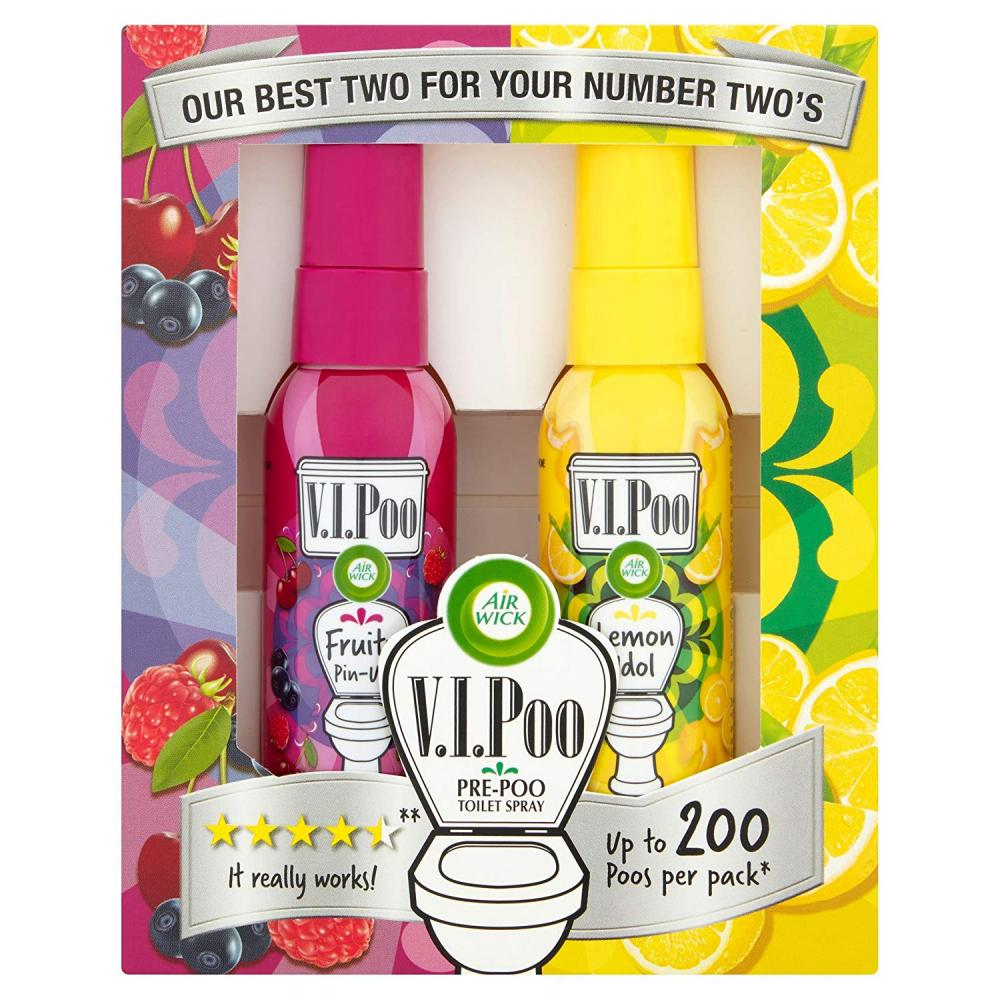 Air Wick VIPoo Toilet Spray lemon and fruit 55ml