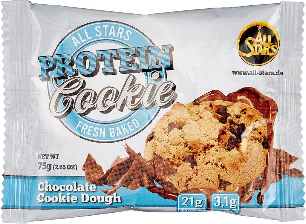 All Stars Fresh Baked Protein Cookie Chocolate Cookie Dough 75G