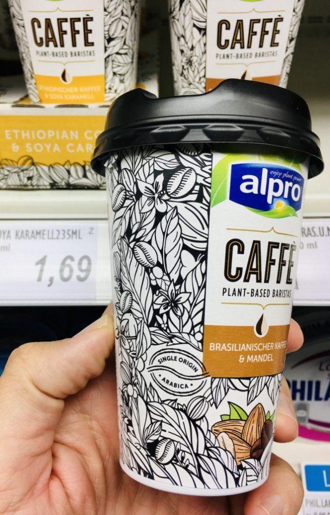 Alpro Caffe Mandelmilch