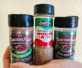 Bacon Salt Applewood und Jalapenos Israelisches Pizzagewürz