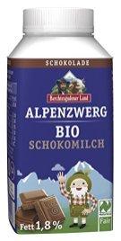Berchtesgadener Land Alpenzwerg Bio-Schokomilch Zergmotiv