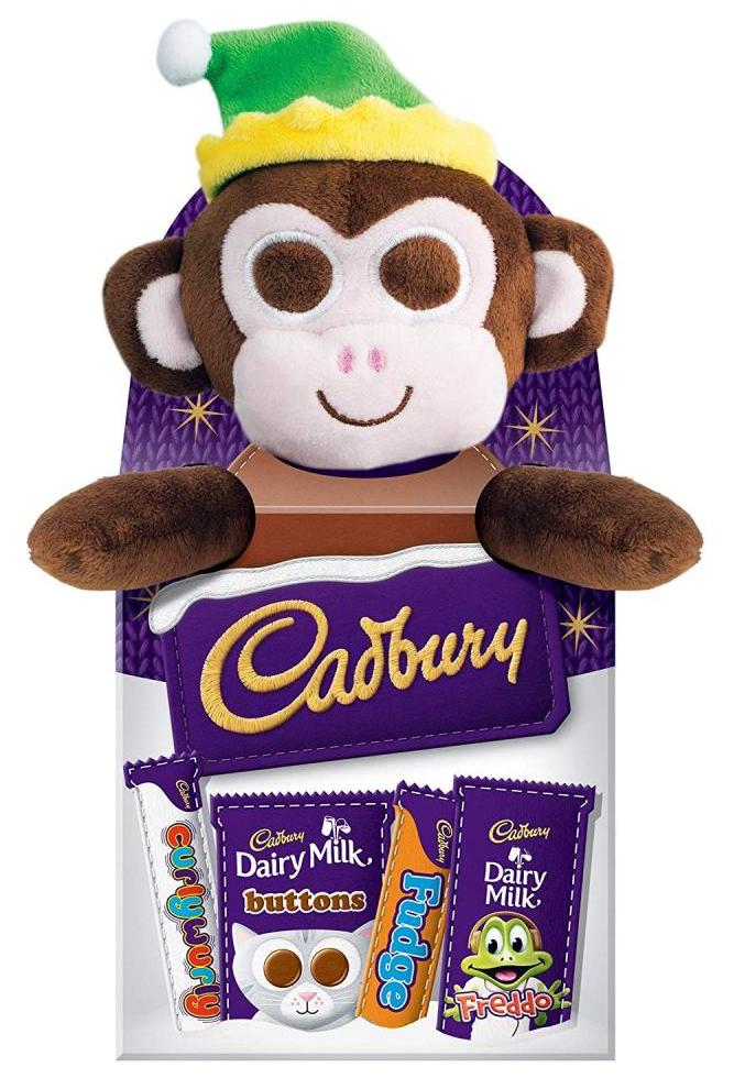 Cadbury Christmas Selection Box Toypack Monkey 70g