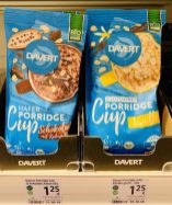 Davert Bio Hafer Porridge Cup 65G