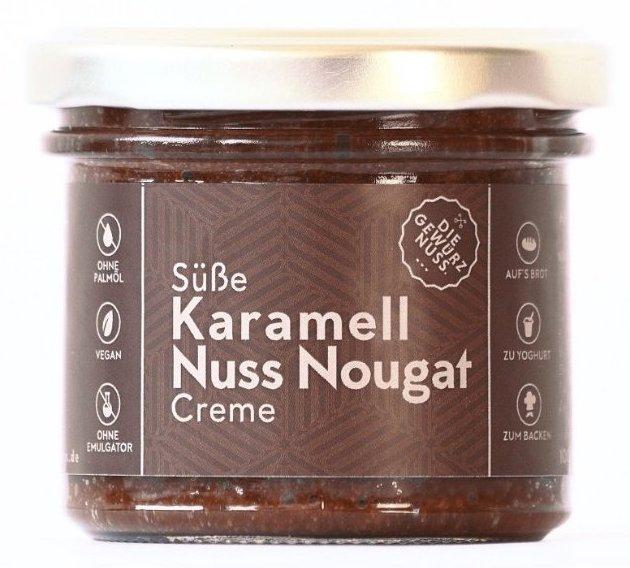 Die Gewürznuss Süße Karamell Nuss-Nougat-Creme