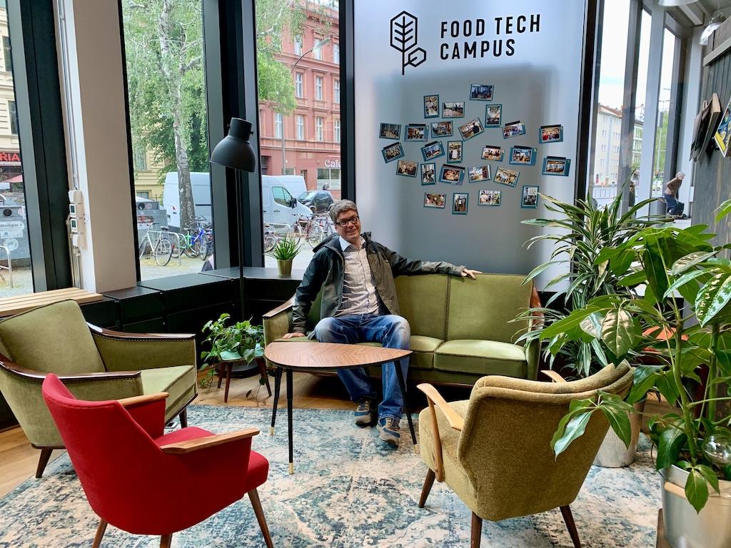 Eingangsbereich Food Tech Campus von EDEKA in Berlin