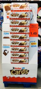 Ferrero KINDER Cards POS Display