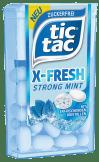 Ferrero tictac X-Fresh Strong Mint mit Kristallen