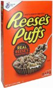 General Mills Reese's Puffs Real Reese's Peanut Butter Cerelas 326g