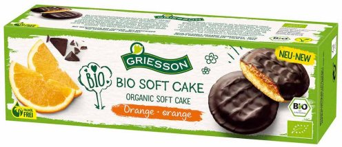 Griesson Bio Soft Cake Orange Jaffacake 12er