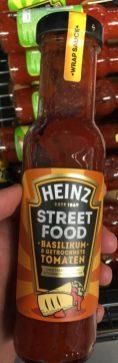 Heinz Grillsauce Street Food Basilikum-getrocknete Tomaten