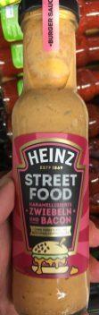 Heinz Grillsauce Street Food Zwiebeln und Bacon