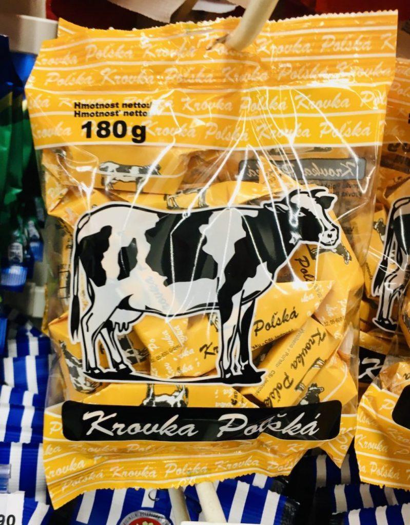 Krowka Polska Polnisches Fudge Kuhbonbons 180G