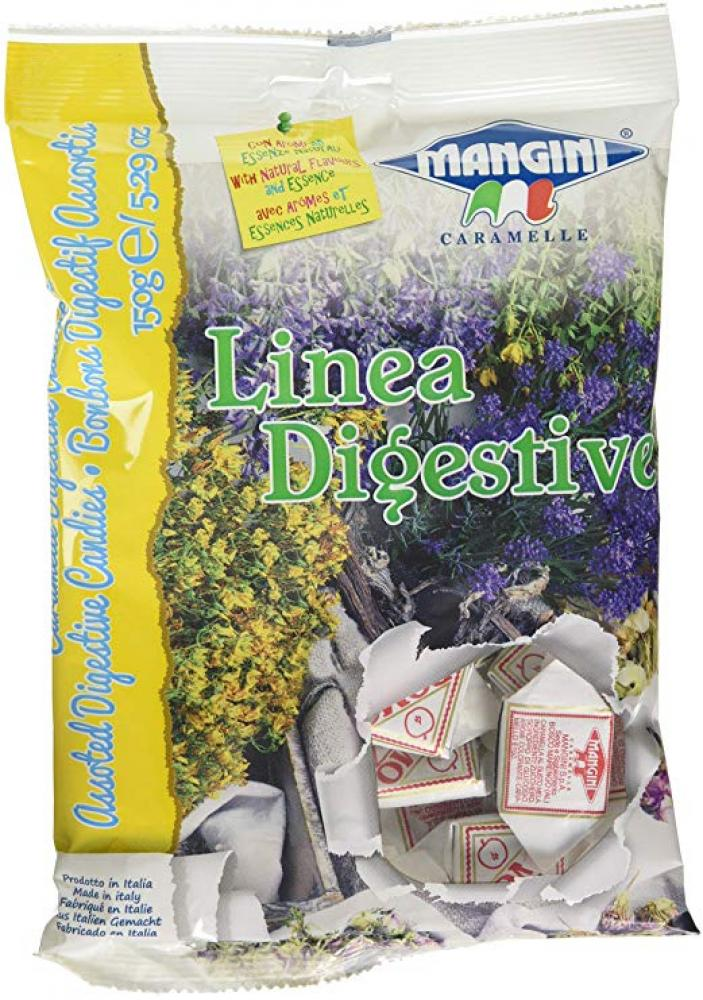 Mangini Caramelle Linea Digestive Bonbons 150G