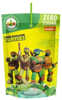 Ninja Turtles Multifruit Drink ohne Zucker