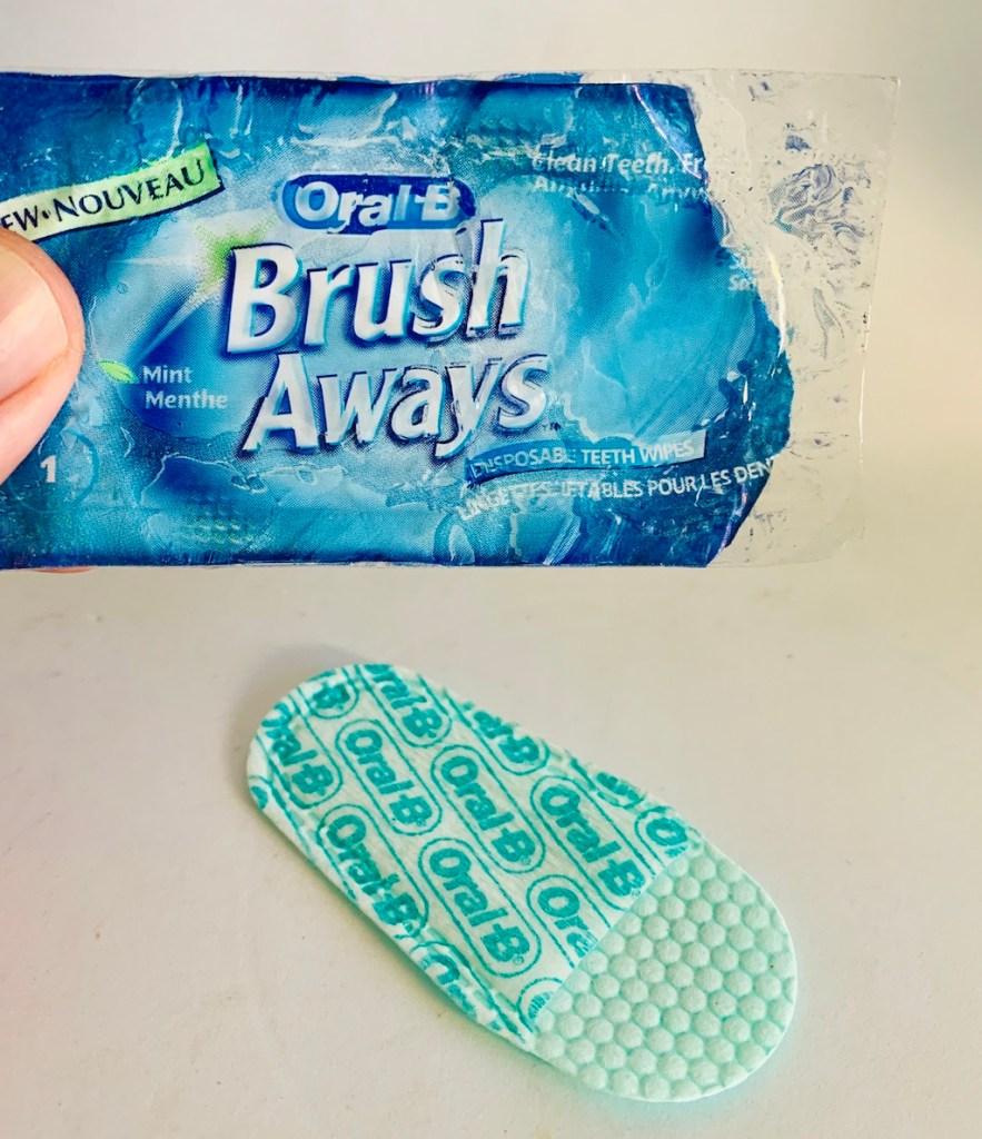 Oral-B Brush Aways Minze Fingerhut-Zahnbürste