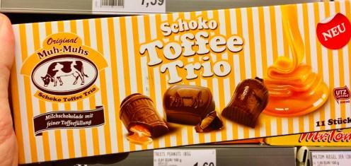 Original Muh Muhs Schoko-Toffee Trio 11 Stück
