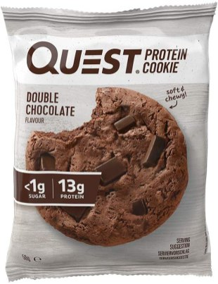 Quest Protein Cookie Double Chocolate 50G
