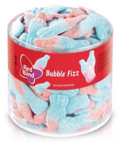 Red Band Bubble Fizz Schaumzucker 1kg