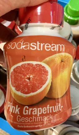 Sodastream Sirup Pink Grapefruit-Geschmack