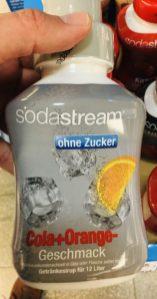 Sodastream Sirup ohne Zucker Cola+Orange-Geschmack
