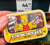 The Simpsons energit KIDZ Vitamintabletten Tschechien Bart2