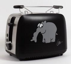 Toaster Ottifanten-Motiv
