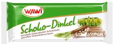 Puffreis bzw. Puffdinkel mit Schokolade von WAWI