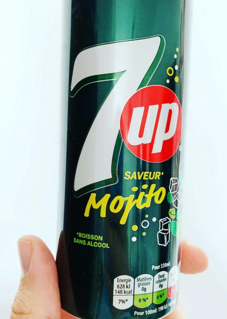 7up Mojito-Geschmack Dose