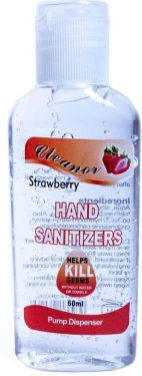 Cleanor Hand Sanitizer Strawbery 60ml