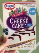 Dr. Oetker Blueberry Cheese Cake American Style Backmischung