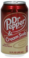 Dr. Pepper Cream Soda 355ml